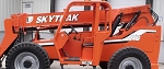 SkyTrak 6036 Telehandler Forklift Decal Kit - Legacy Series