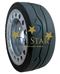 SkyJack 158437 / 158439 / 108022 Non Marking Tire - W/ BRAKE