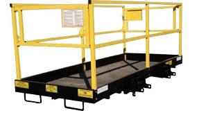 "1210C QT 4' x 9' 8"" Safety Work Platform (QUICK-TACH)"