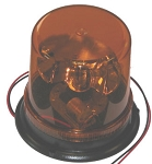 Rotating Beacon, Amber  12VDC   100fpm