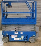 Genie GS1530 Scissor Lift Decal Kit SN 07A-91732 to 10A-109999 & 07B-88080 to 09B-98941 (Safety Only)