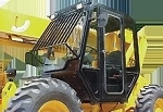 JCB 506C / JCB 508C Cab Enclosure Kit W/ FREE CAB HEATER