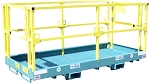 1208C 4x8 Safety Work Platform (SLIP OVER THE FORKS)