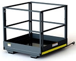 TriStar 4x4 Safety Work Platform / Man Basket (Slip on the Forks)