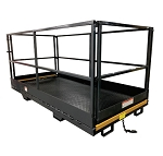 TriStar 4x6 Safety Work Platform / Man Basket (Slip on the Forks)