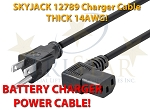 SKYJACK 12789 SCISSOR LIFT 3ft 14AWG Battery Charger 110v AC Power Cable