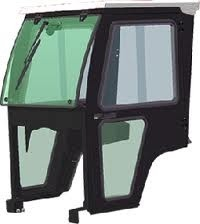 BOBCAT CT120, CT122 CAB ENCLOSURE KIT